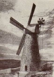 Montefiore windmolen, Jeruzalem 1858