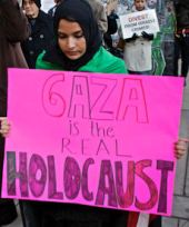 Gaza is de echte Holocaust