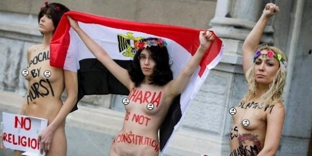 Sharia-nude-protest