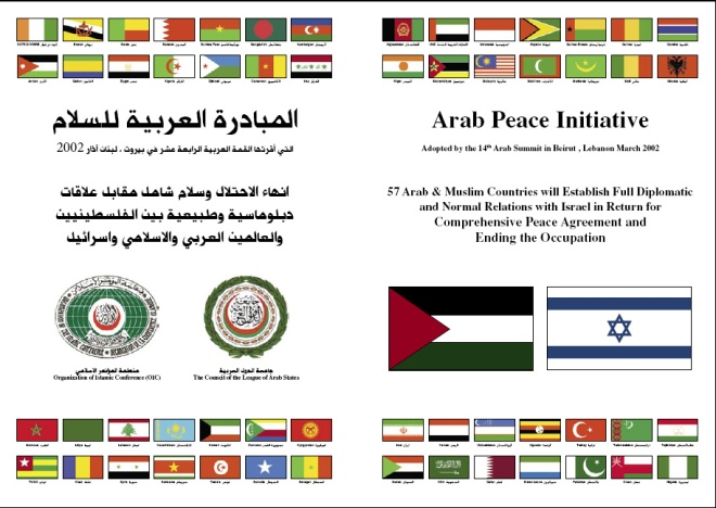 Arab Peace Initative Poster