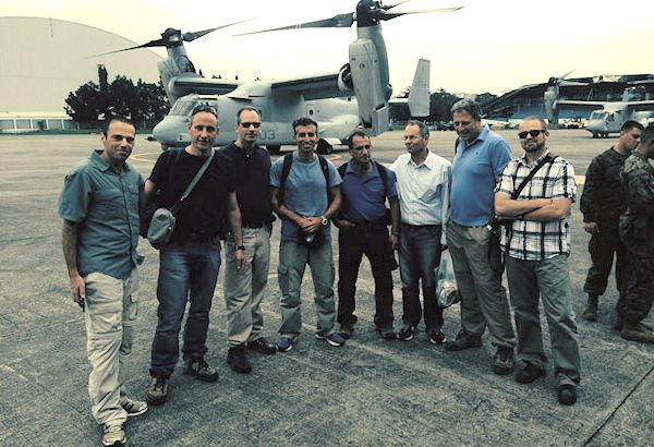 Israel advance assessment team arrives in the Philippines
