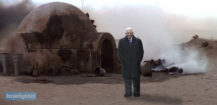 Abbas in de Star Wars movie