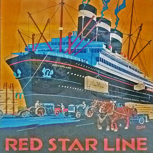 poster Red Star Line