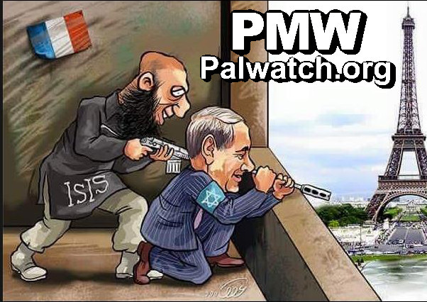 netanyahu_and_isis_paris_cartoon